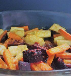 Rodfrugter i ovn, opskrift, nemt, sjovt, superotium, sund,