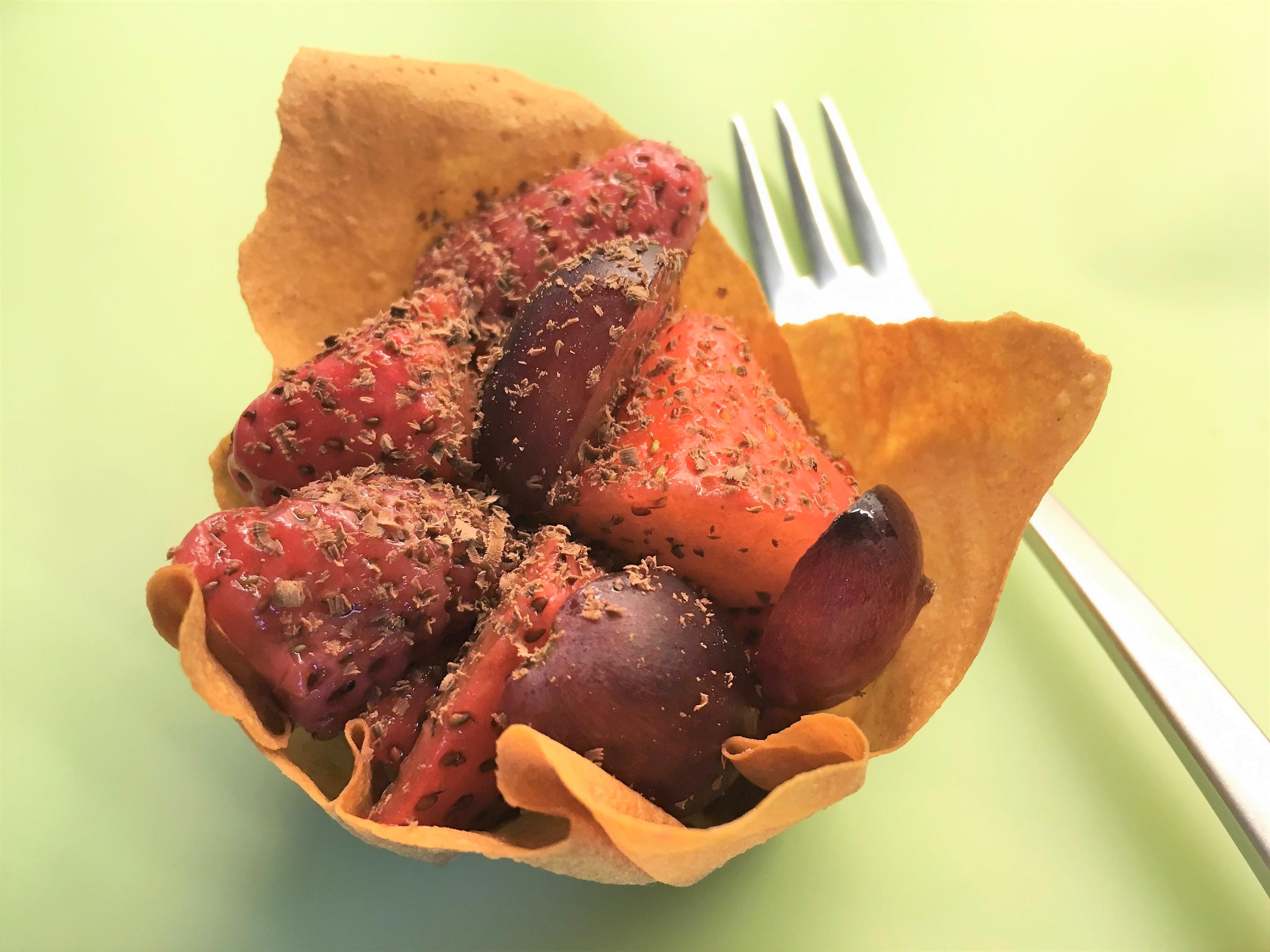 Filodej, jordbær, vindruer, opskrift, superotium, sundt, chokolade, sukkerfri, fedtfattig, dessert, gæster