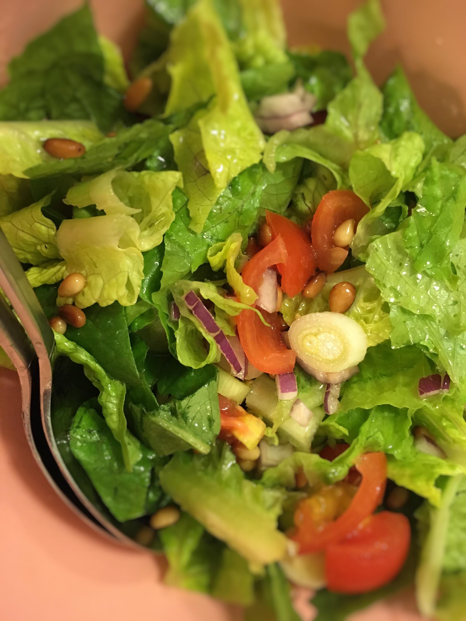 Romainesalat, sund, vegetar, SuperOtium, Opskrift