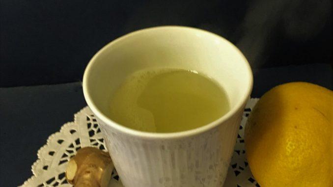 Ingefær te opskrift med citron, mod forkølelse, gigt, SuperOtium