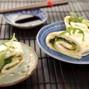 wrap-med-agurk-og-kyllingebryst opskrift, sund, SuperOtium