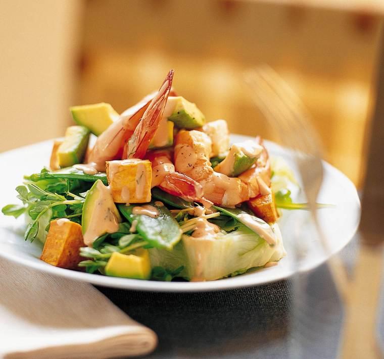 Sommersalat opskrift, hjertesund mad, SuperOtium