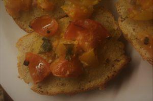 Bruschetta opskrift med tomater, hjertesund, madplan, SuperOtium, Otium, sund, kost