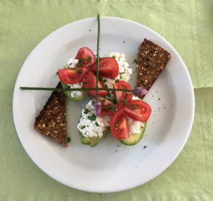 Frokost med avocado, sund avocado opskrift, SuperOtium