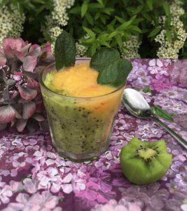 Kiwi-fersken drik opskrift, SuperOtium, hjertessund